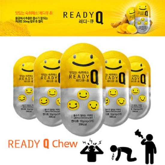 Kẹo giải rượu Ready Q Chew Hàn Quốc chính hãng, giá tốt 1
