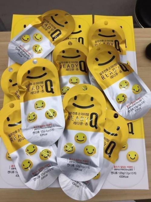 Kẹo giải rượu Ready Q Chew Hàn Quốc chính hãng, giá tốt 4