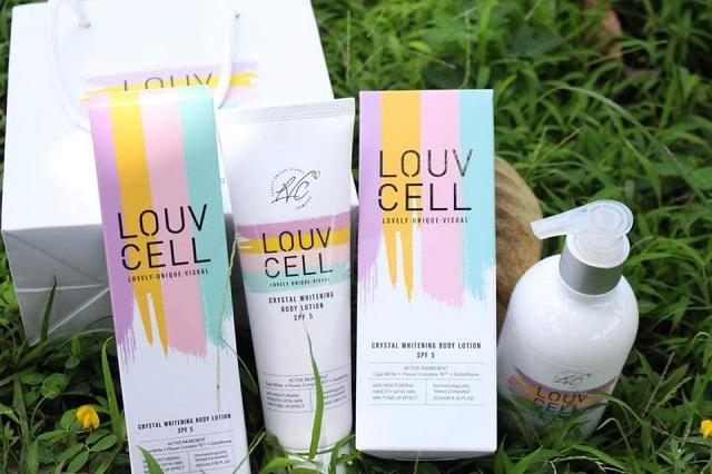Louv Cell - Lotion dưỡng trắng da toàn thân của Hàn Quốc 1