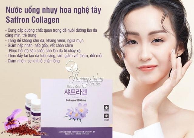 Saffron Collagen 3000mg - Nước uống chống lão hóa tốt nhất 3