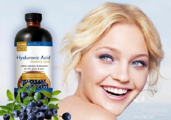 Neocell Hyaluronic Acid 473ml tinh chất nước việt quất của Mỹ 2