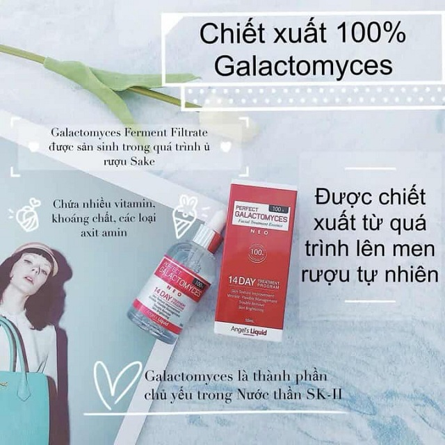 Tinh chất Angel's Liquid Perfect Galactomyces 14 Days 55ml 1