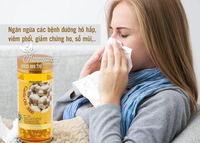 Tinh dầu tỏi Spring Leaf Garlic Oil 3000mg của Úc giá tốt nhất 2