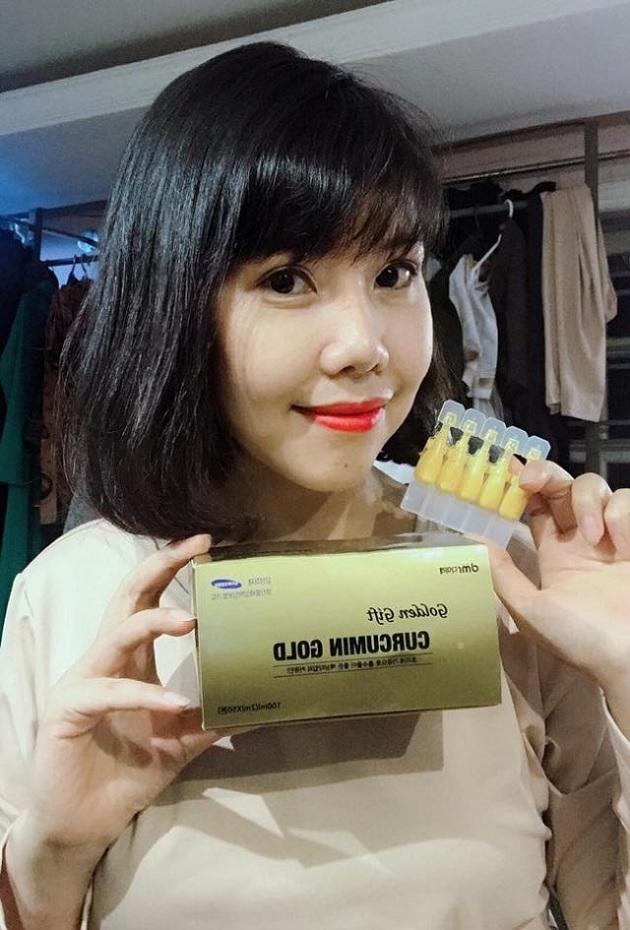 Nghệ Korean Liquid Nano Curcumin Gold Hàn Quốc 50 ống 2