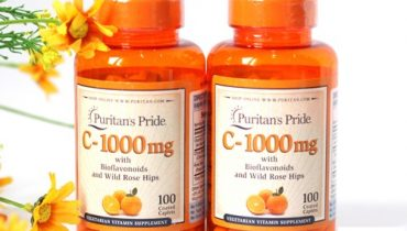 Puritans Pride vitamin C 1000mg giá bao nhiêu? Mua ở đâu chính hãng?