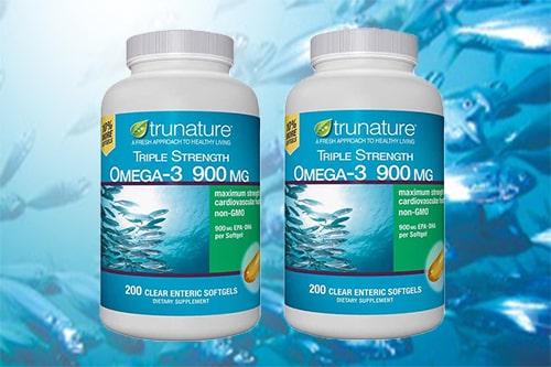 Viên uống dầu cá Omega-3 Trunature Triple Strength giá bao nhiêu?