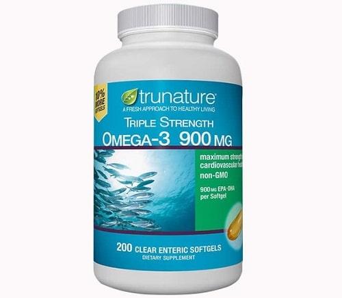 Viên uống dầu cá Omega-3 Trunature Triple Strength giá bao nhiêu-2