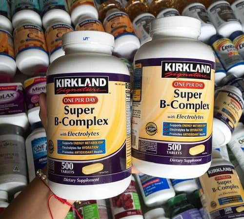 Super B Complex Kirkland giá bao nhiêu-3