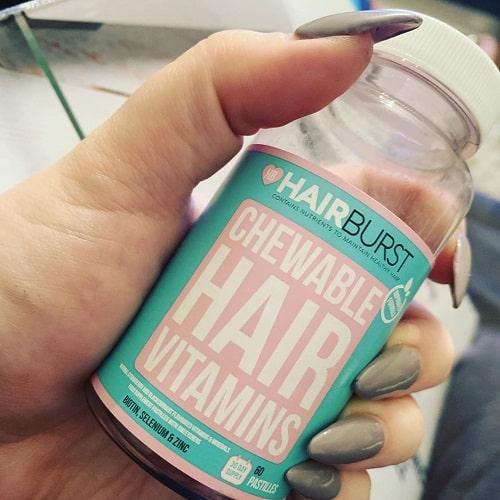 Kẹo mọc tóc Hairburst Chewable giá bao nhiêu-3