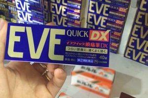 Thuốc giảm đau Eve Quick DX giá bao nhiêu-1