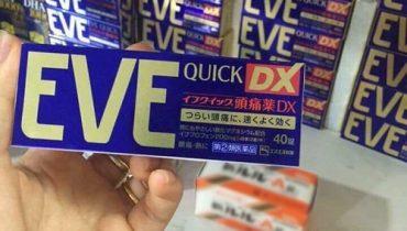 Thuốc giảm đau Eve Quick DX giá bao nhiêu? Mua ở đâu chính hãng?