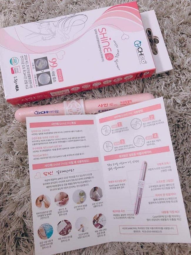 Gel phụ khoa Shine PH Gel Hàn Quốc, ngăn ngừa bệnh phụ khoa 1