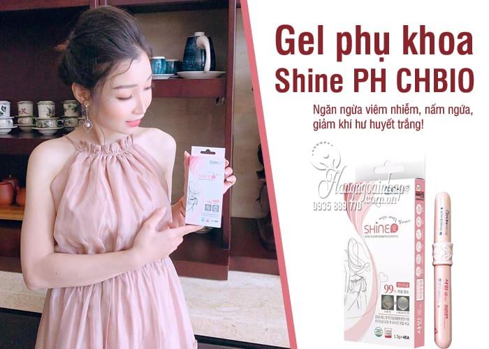 Gel phụ khoa Shine PH Gel Hàn Quốc, ngăn ngừa bệnh phụ khoa 4