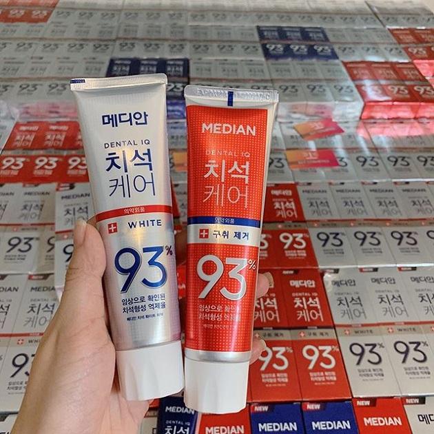 Kem đánh răng Median 86, kem đánh răng Median 93 Hàn Quốc 9