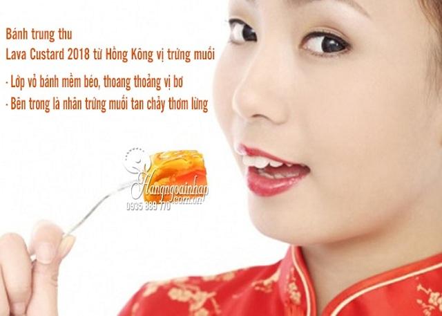 Bánh trung thu trứng muối Hồng Kông Lava Custard 2019 6
