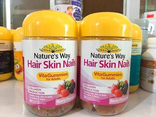 Kẹo dẻo Hair Skin Nails Natures Way giá bao nhiêu?