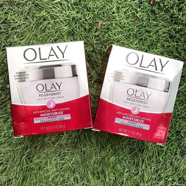 Kem dưỡng da Olay Regenerist Moisturize màu tím hũ 48g, Mỹ 4