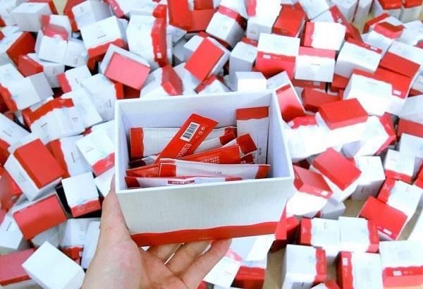 Slim Recipe màu đỏ - thuốc giảm cân Hàn Quốc được yêu thích 9