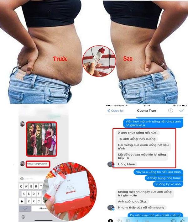 Slim Recipe màu đỏ - thuốc giảm cân Hàn Quốc được yêu thích