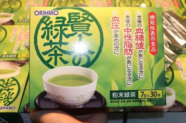 Trà xanh Orihiro Sage giảm mỡ máu tốt nhất của Nhật 8