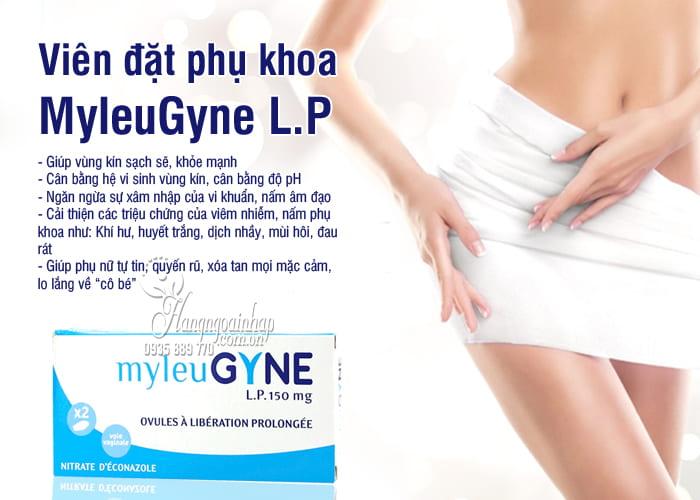 Thuốc đặt âm đạo trị nấm MyleuGyne L.P 150mg của Pháp 1