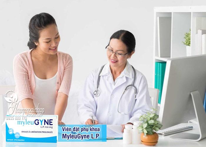 Thuốc đặt âm đạo trị nấm MyleuGyne L.P 150mg của Pháp 9