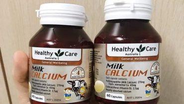 Cách uống canxi Healthy Care cho trẻ hiệu quả