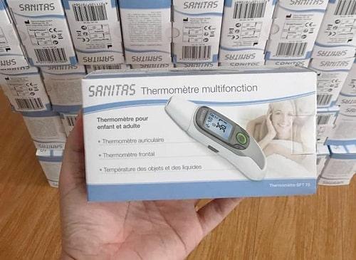 Giá nhiệt kế Sanitas SFT 75 bao nhiêu? Mua ở đâu chính hãng?