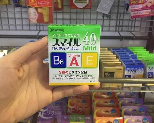 Công dụng của thuốc nhỏ mắt Lion 40 Ex Mild là gì?