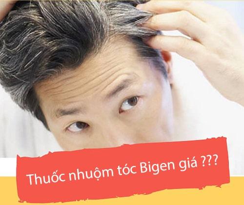 Thuốc nhuộm tóc Bigen giá bao nhiêu? Mua ở đâu chính hãng?