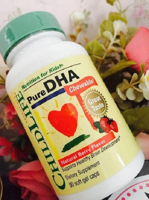 Viên bổ sung cho bé Pure DHA Childlife 250mg của Mỹ 2