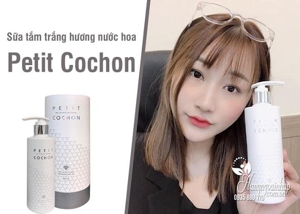 Sữa tắm Peptide Cochon Hàn Quốc, dưỡng trắng hương nước hoa 1