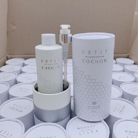 Sữa tắm Peptide Cochon Hàn Quốc, dưỡng trắng hương nước hoa 8