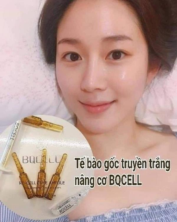 Bqcell Hàn Quốc - Tế bào gốc dưỡng trắng nâng cơ Re-cell 3