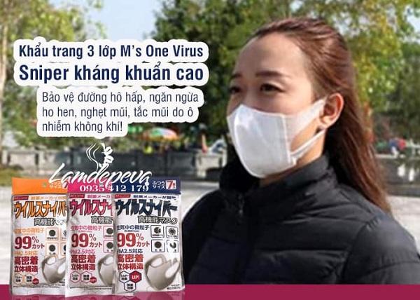 Top 4 khẩu trang kháng khuẩn, virus phòng dịch Corona 9