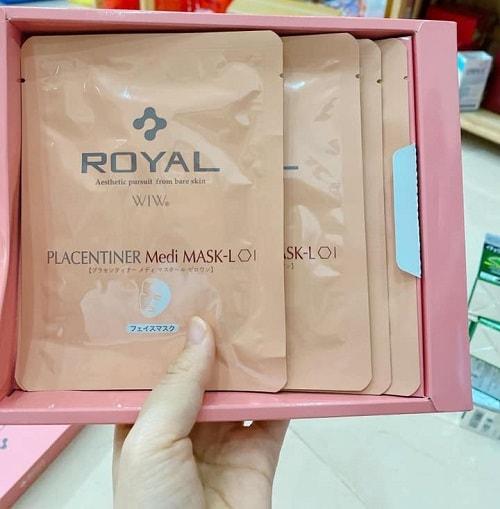 Cách sử dụng mặt nạ Royal Placentiner Medi Mask-L-2