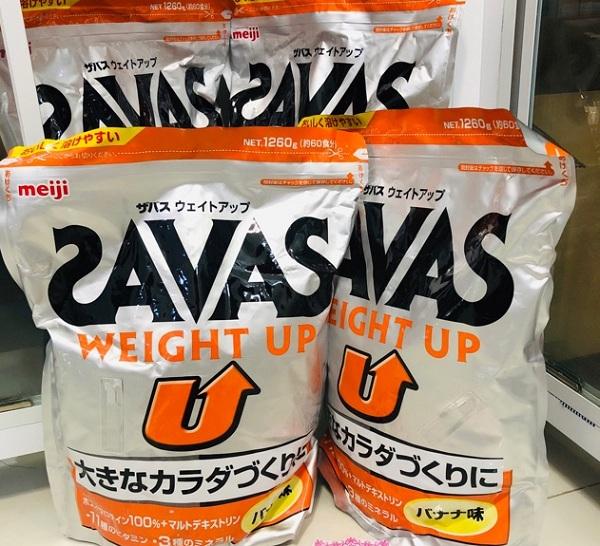 Sữa Savas Weight Up Meiji 1260g hỗ trợ tăng cân lành mạnh 6