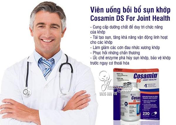 Thuốc Cosamin Mỹ - Bồi bổ khớp, tái tạo sụn số 1 hiện nay 3
