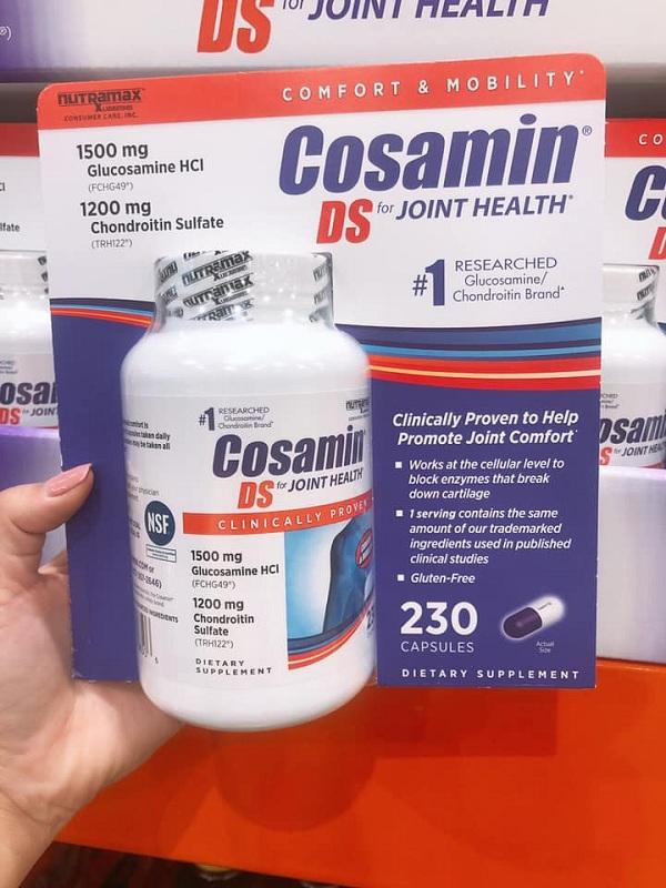 Thuốc Cosamin Mỹ - Bồi bổ khớp, tái tạo sụn số 1 hiện nay 1
