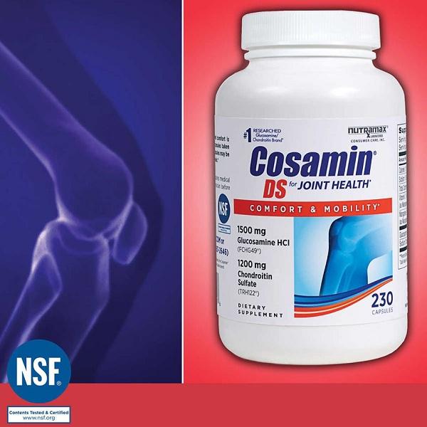 Thuốc Cosamin Mỹ - Bồi bổ khớp, tái tạo sụn số 1 hiện nay 7