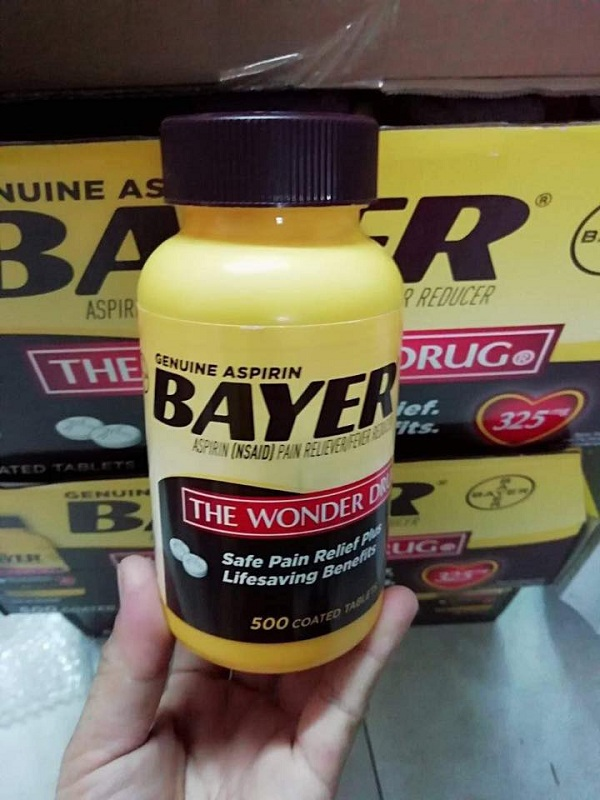 Thuốc Bayer The Wonder Drug 500 viên - Thuốc giảm đau 1