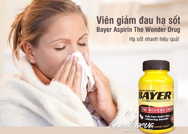 Thuốc Bayer The Wonder Drug 500 viên - Thuốc giảm đau 5