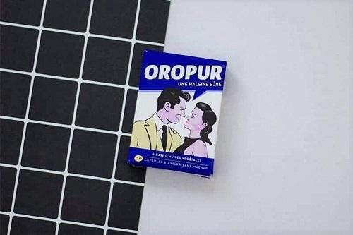 Thuốc trị hôi miệng Oropur giá bao nhiêu-2