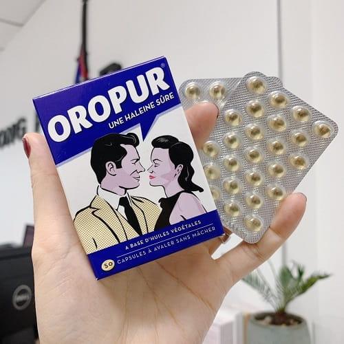 Thuốc trị hôi miệng Oropur giá bao nhiêu-3