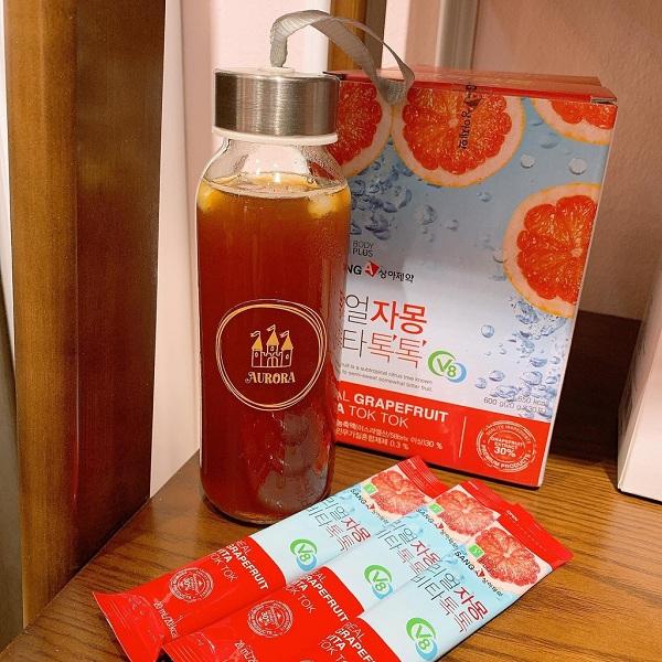 Nước ép bưởi giảm cân Sanga Real Grapefruit Vita Hàn Quốc 1