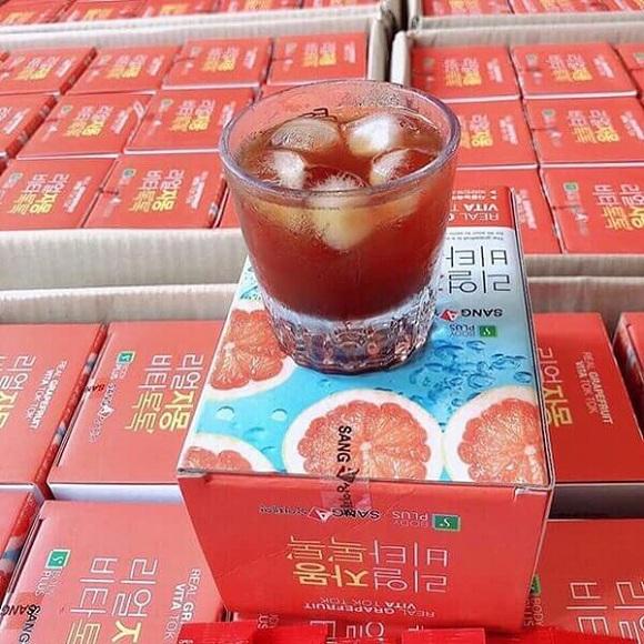 Nước ép bưởi giảm cân Sanga Real Grapefruit Vita Hàn Quốc 9