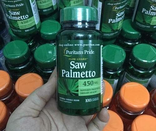 Thuốc Saw Palmetto 450mg 100 viên giá bao nhiêu-3