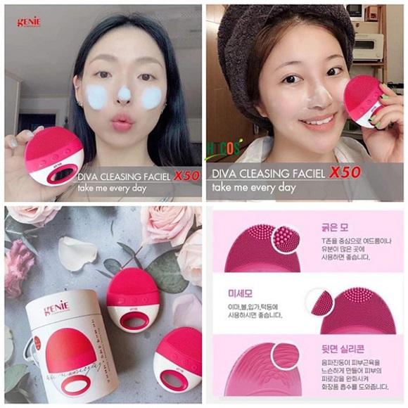 Máy rửa mặt Genie Take Me Every Day chính hãng Hàn Quốc 1