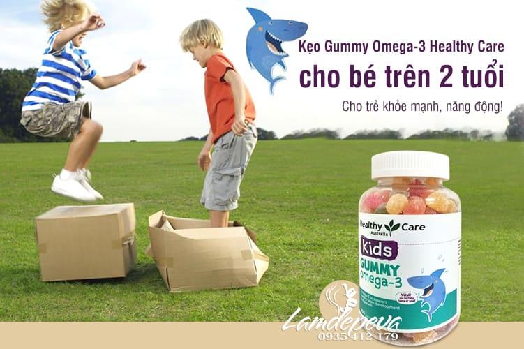 Kẹo dẻo Omega 3 Gummy Healthy Care hộp 250 viên của Úc 5