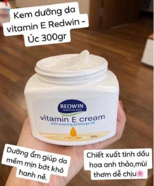 Kem dưỡng Redwin Vitamin E Cream chính hãng Úc - Đại lý 3